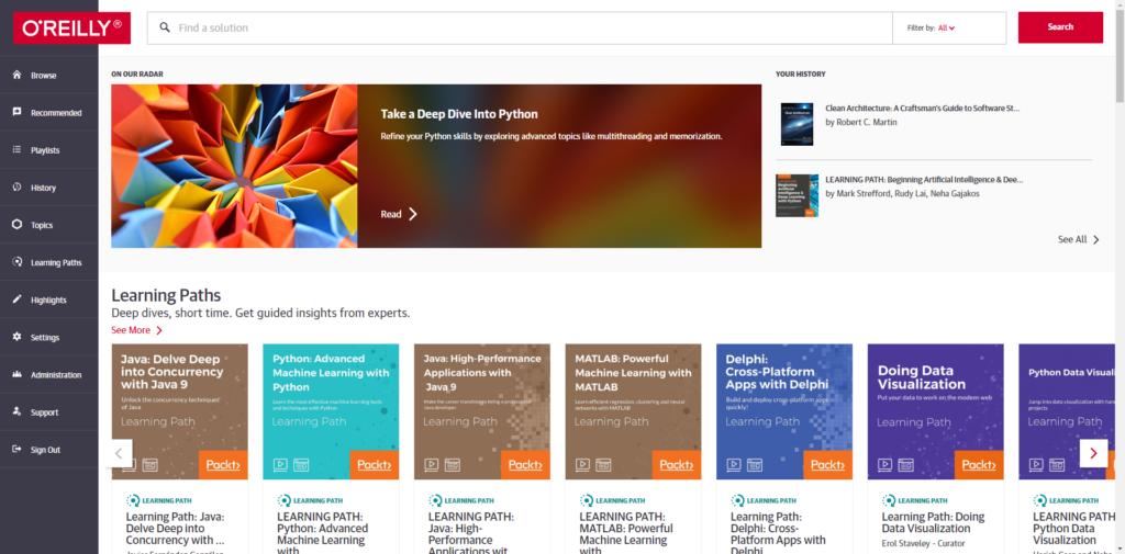 Safari Books Online Update